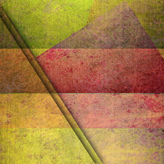 yelow and red grunge geometric background card