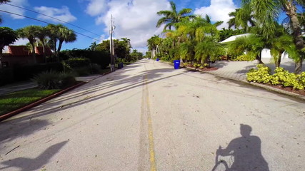 Cyclists point of view fpv biking