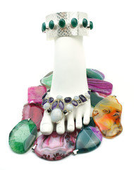 Bejeweled Foot