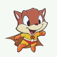 Kitten Superhero