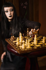 Death plays chess