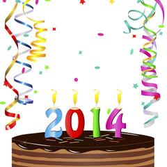 New Year Cake 2014
