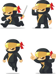 Ninja Customizable Mascot