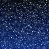 Fototapety Falling snow