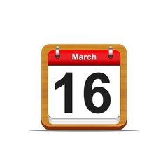 March 16.