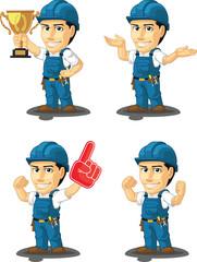 Technician or Repairman Mascot 14