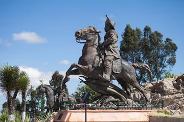 Colonial city Zacatecas, Mexico