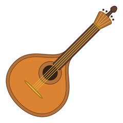 Musical instrument mandolin