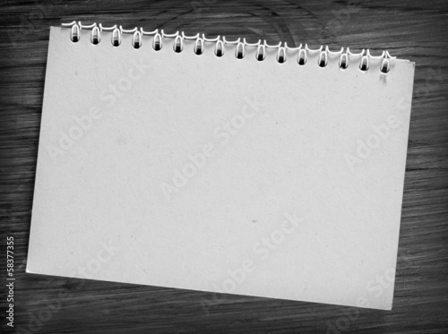 note on wooden backgrounds