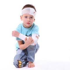 verletzter Junge 2