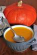 Le bol de soupe de potimarron