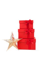 Geschenke und Stern