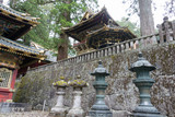 Stone lanterns at Toshogu Shrine,Nikko,Japan