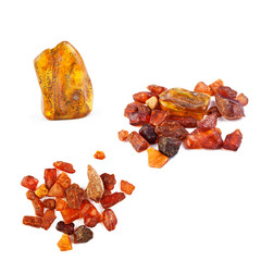 Collection of amber