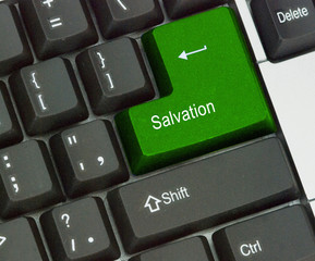 Hot key for salvation