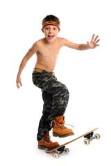 Skating boy