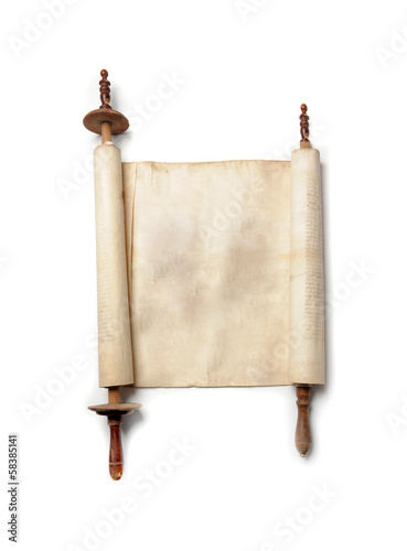 Antique scroll