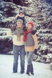 Fototapety winterfamily22