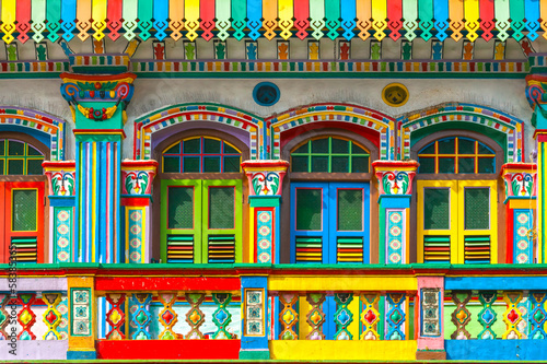 Foto op Canvas Singapore Little India, Singapore