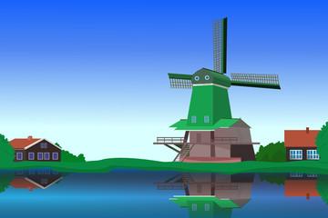 Holland landscape