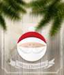 Christmas background with Santa Claus - Sfondo natalizio
