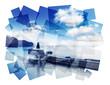 cruise ship collage