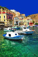 Griechenland bunten Serie Insel Symi, Dodekanes