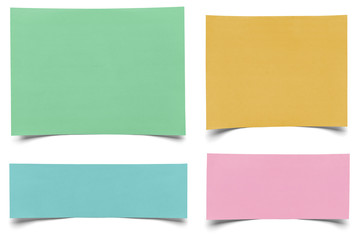 piece of paper note notepad