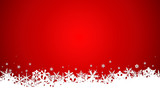 Wintry christmas background