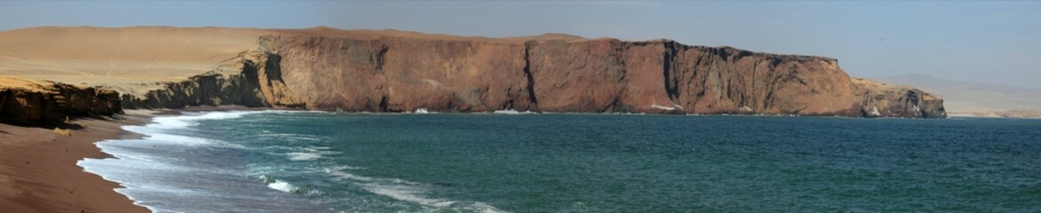 Nationalpark bei Paracas in Peru