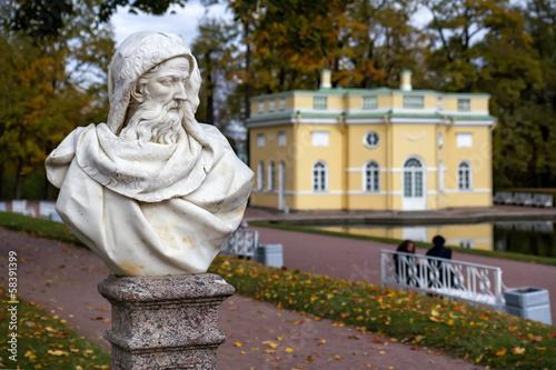 Poster Statue in the Catherine park in Pushkin (Former Tsarskoe Selo),S
