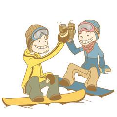 Snowboard_Cheers