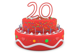 Happy Birthday Pie