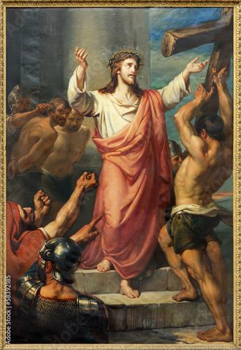 Leuven - Jesus carries His cross - Michelskerk