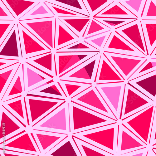 Foto op Plexiglas ZigZag Seamless geometric background.