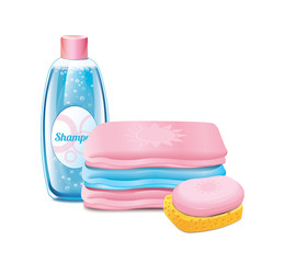 Shampoo Soap Towel