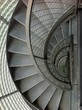 canvas print picture - Wendeltreppe