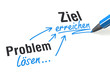 Problem lösen... Ziel erreichen
