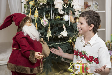 Negotiating with Santa Clause
