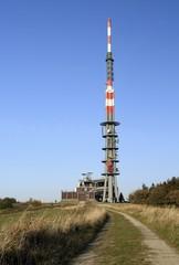 Transmission Tower on the top of Velka Javorina
