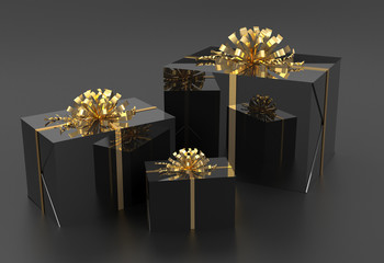 black giftbox