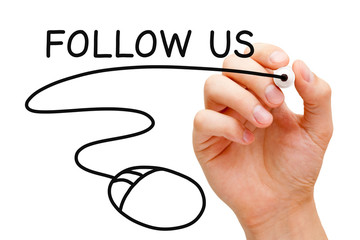 Follow Us Mouse