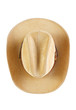 Cowboy hat , top view