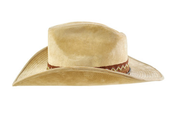 Cowboy hat , side view