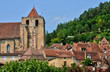 France, Saint Cyprien church in Dordogne