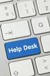 Help desk. Keyboard