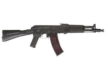 modern AK105 assault rifle on white