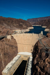 Hoover Dam near Las Vegas Nevada USA