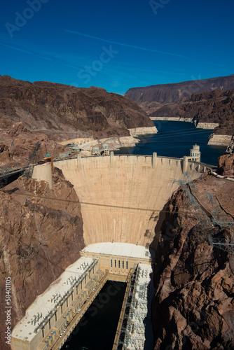 Papiers peints Cappuccino Hoover Dam near Las Vegas Nevada USA