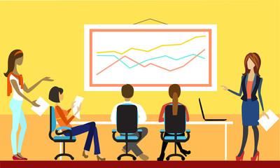 Business Presentation, Meeting or Brainstorming